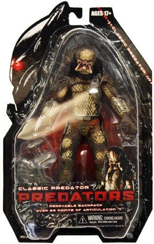 NECA Predators 2010 Movie Series 1 Action Figure Classic Predator