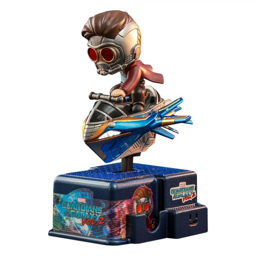 Guardians of the Galaxy: CosRider with Sound & Light Up Star Lord - Mini Figure - Hot Toys