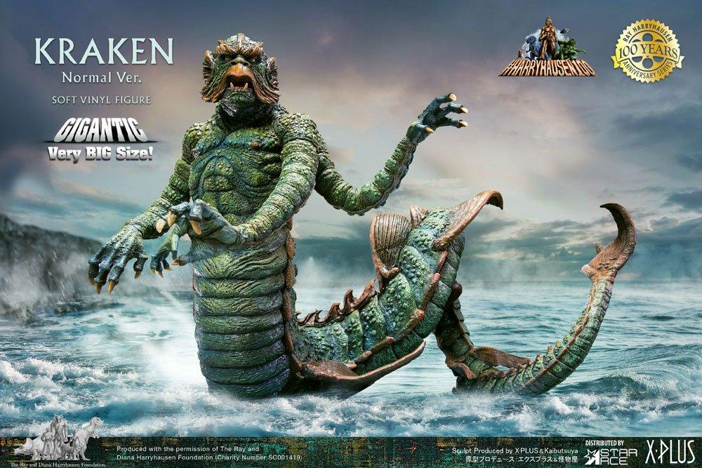 Clash of the Titans: Kraken 35 cm Gigantic Soft Vinyl Statue - Star Ace Toys