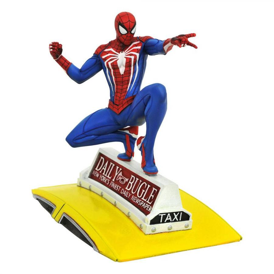 Spider-Man 2018: Spider-Man on Taxi - Marvel Gallery PVC Statue 23 cm - Diamond Select