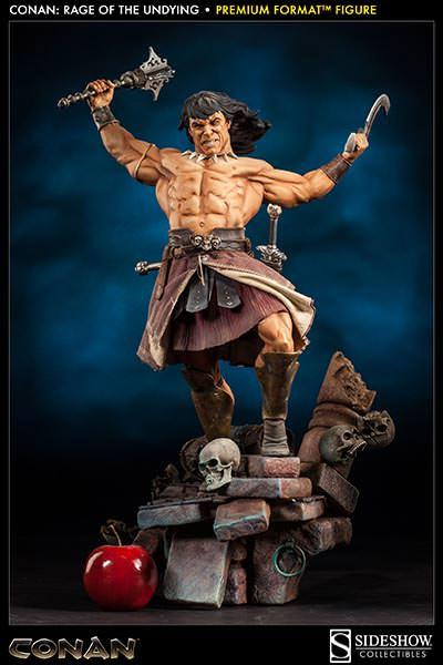 Conan the Barbarian PF 1/4 Rage of the Undying 68 cm