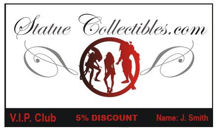 Statue Collectibles V.I.P. Club loyalty card - 1 rok