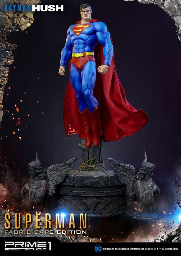 Batman Hush Statue 1/3 Superman Fabric Cape Edition 106 cm