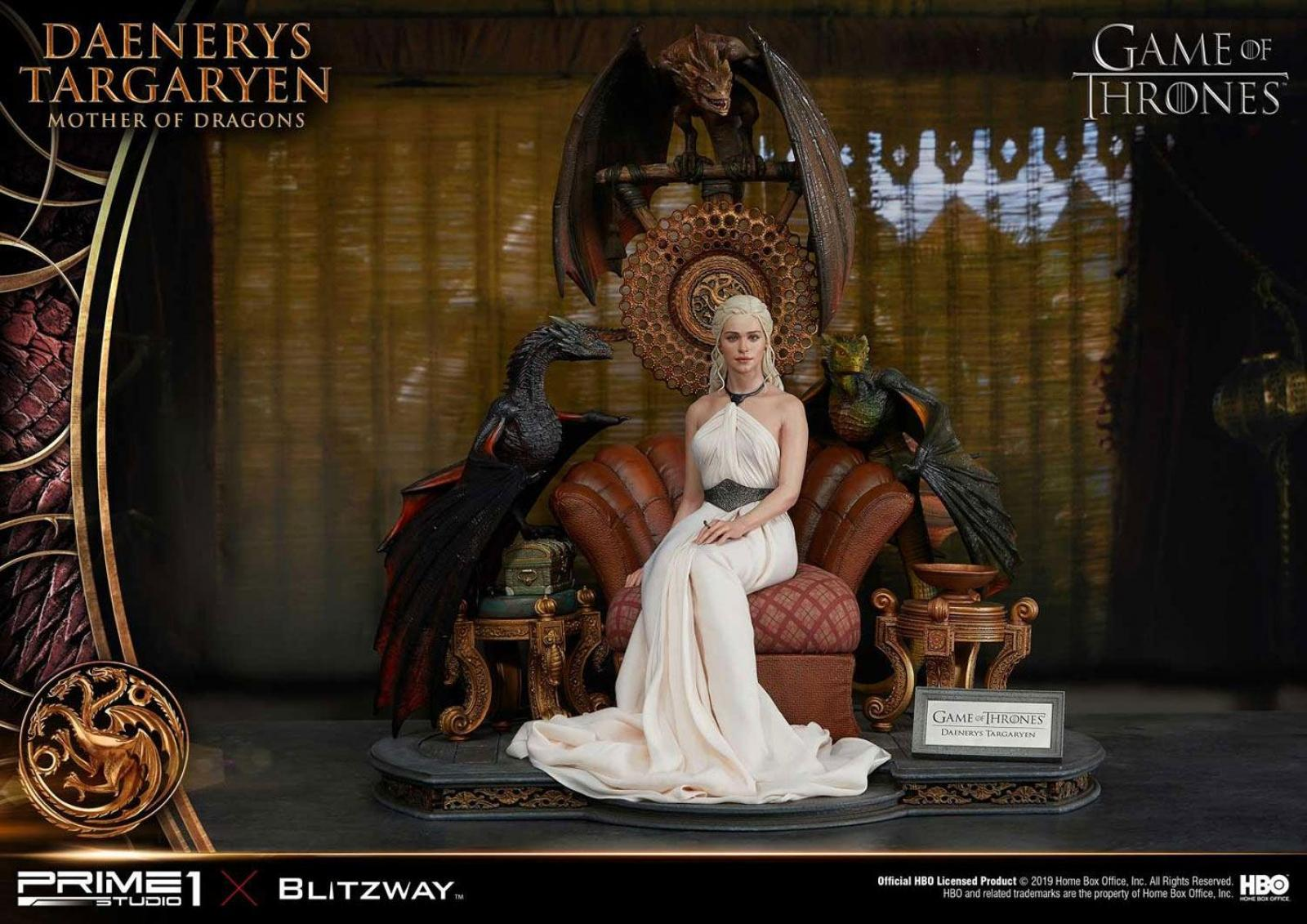 Game of Thrones Statue 1/4 Daenerys Targaryen - Mother of Dragons 60 cm