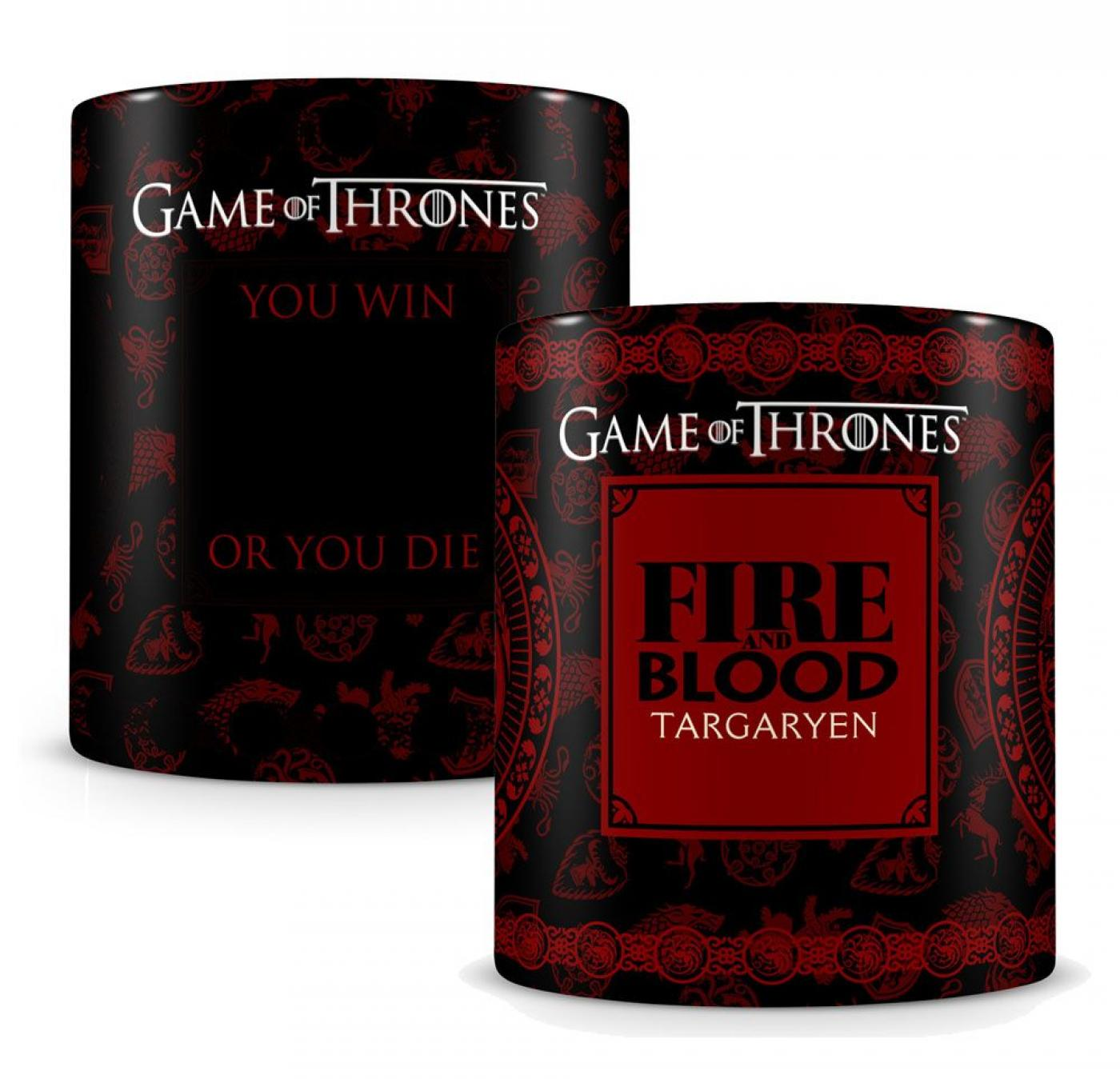 Game of Thrones Heat Change Mug Targaryen