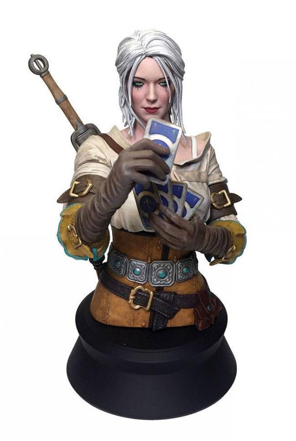 Witcher 3: Wild Hunt Ciri Playing Gwent - Bust 20 cm - Dark Horse