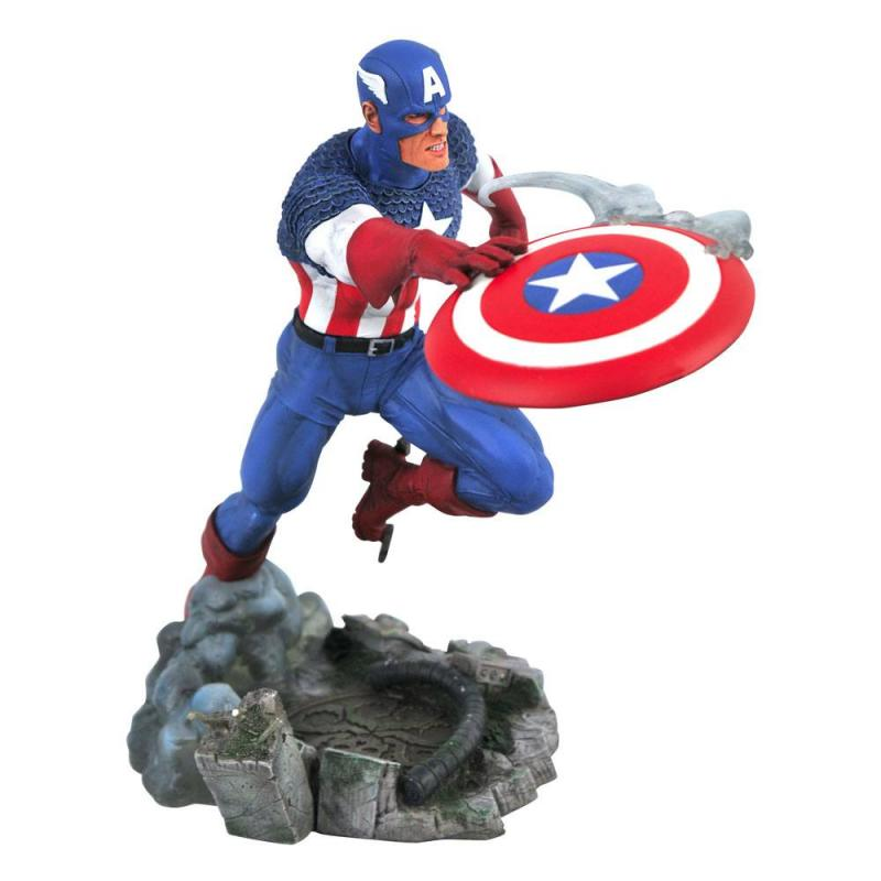 Marvel: Captain America - Comic Gallery Vs. PVC Statue 25 cm - Diamond Select
