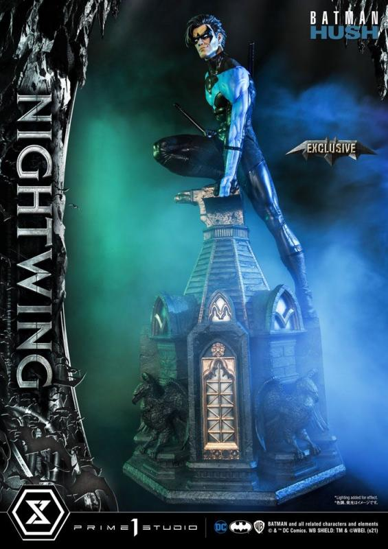 Batman Hush Statues Nightwing & Nightwing Exclusive Bonus 87 cm Assortment (3)