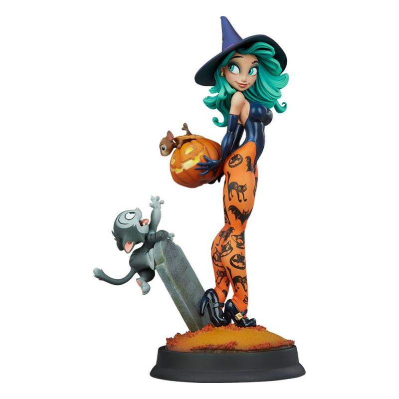 Happy HallowQueens: Pumpkin Witch by Chris Sanders - Statue 34 cm - Sideshow