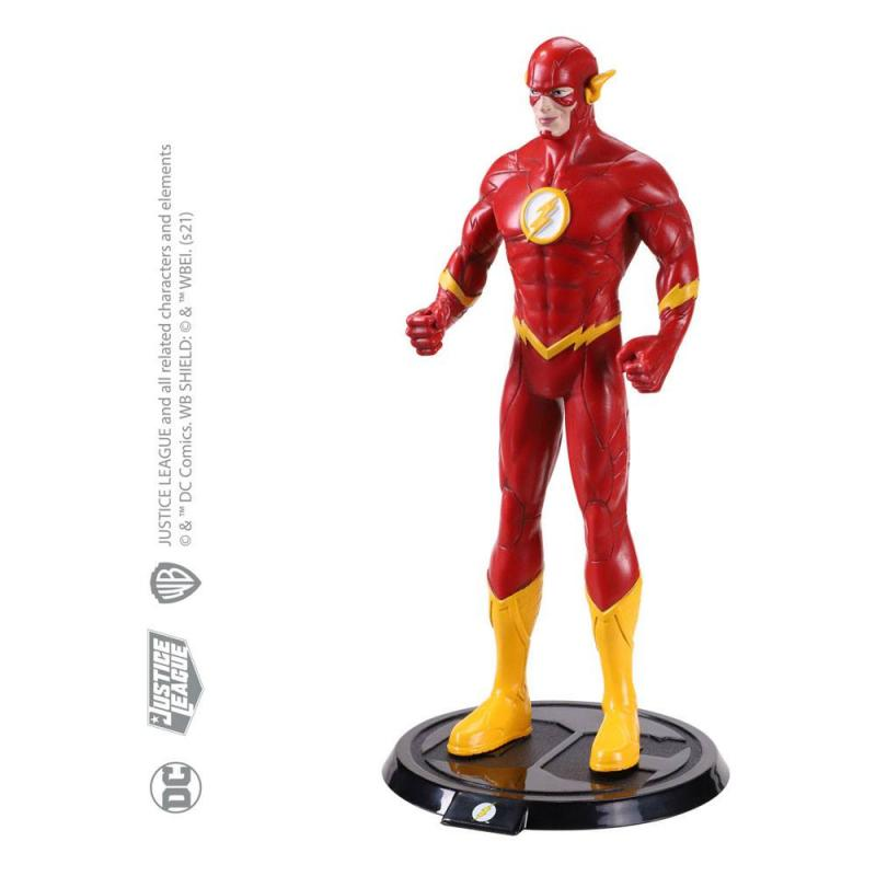 DC Comics: Flash 19 cm Bendable Figure - Noble Collection