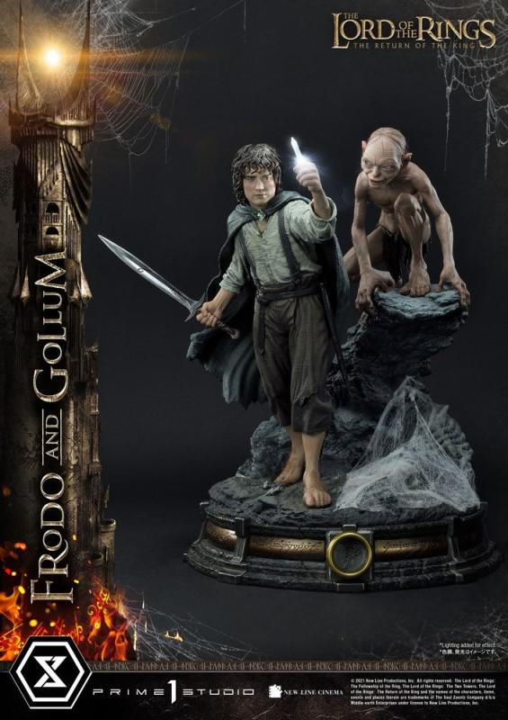 Lord of the Rings: Frodo & Gollum 1/4 Statue Bonus Version - Prime 1 Studio