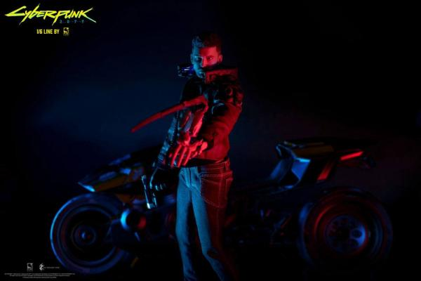 Cyberpunk 2077: V Male & Yaiba Kusanagi Figure Set - Pure Arts
