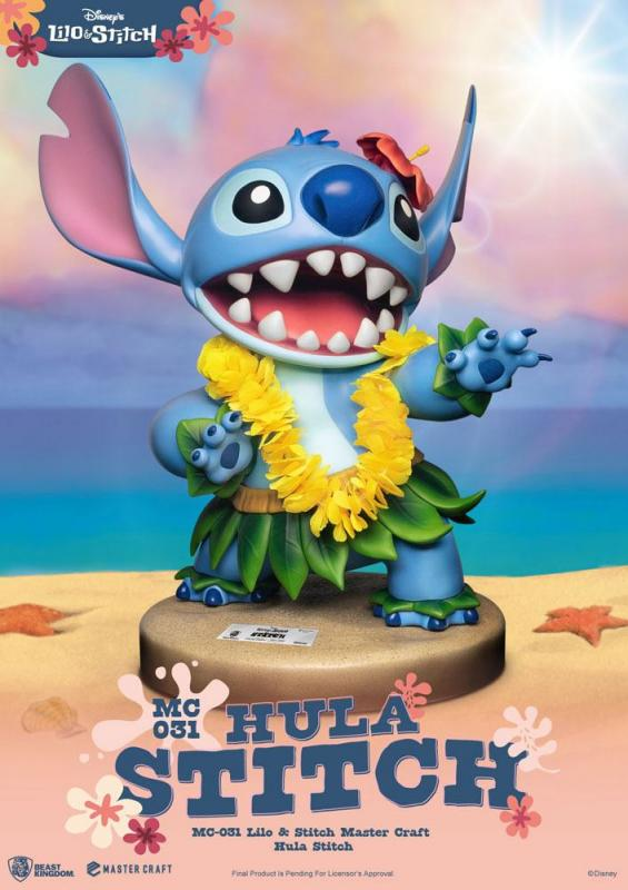 Disney Master Craft Statue Hula Stitch 38 cm
