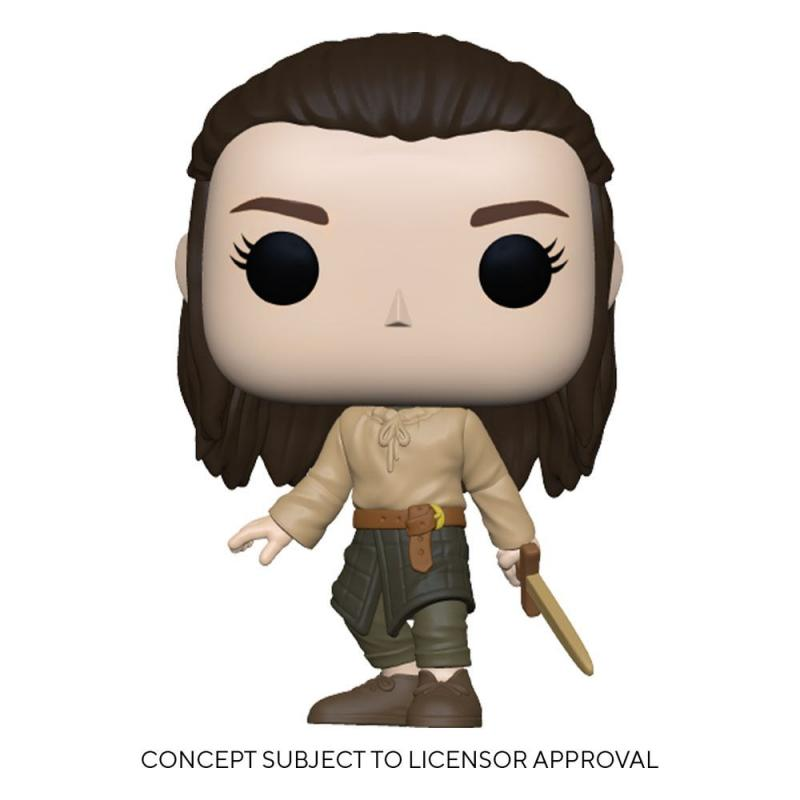 Game Of Thrones: Arya Training 9 cm POP! TV Vinyl Figure - Funko