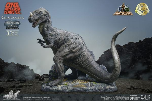 One Million Years B.C.: Ceratosaurus 32 cm Statue - Star Ace Toys