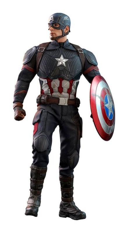 Avengers: Endgame Movie Masterpiece Action Figure 1/6 Captain America 31 cm