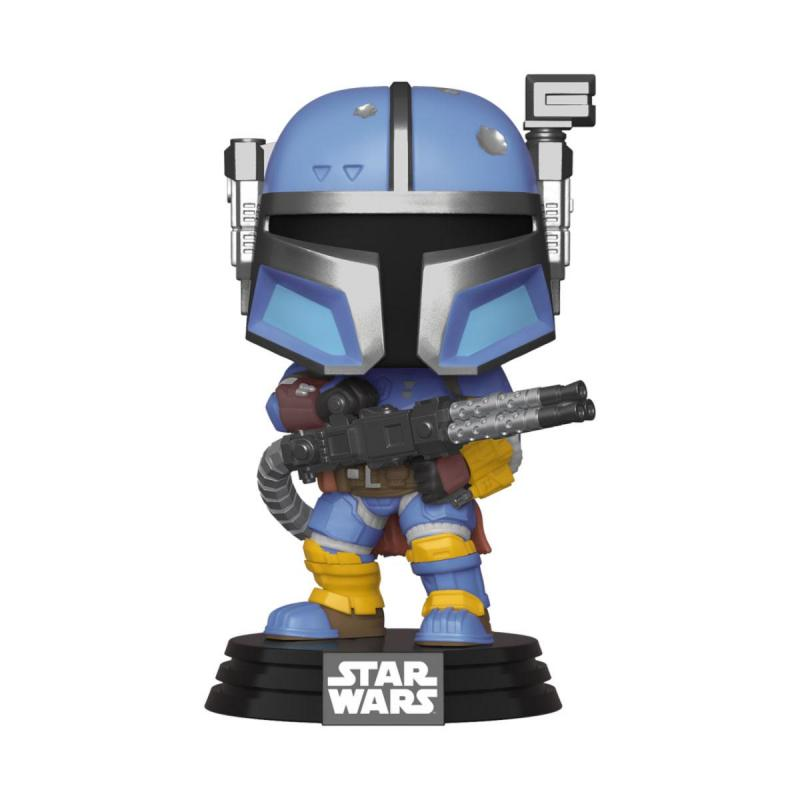 Star Wars The Mandalorian POP! TV Vinyl Figure Heavy Infantry Mandaloria 9 cm