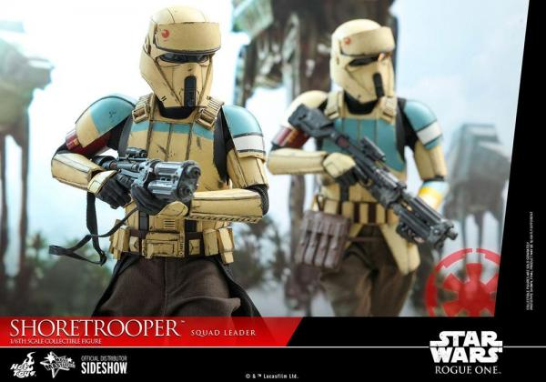Rogue One A Star Wars Story: Shoretrooper Squad Leader - Figure 1/6 - Hot Toys