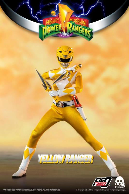 Mighty Morphin Power Rangers: Yellow Ranger - FigZero Action Figure 1/6 - ThreeZero