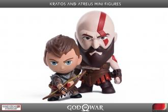 God of War PVC Mini Figures 2-Pack Kratos & Atreus 7 - 9 cm