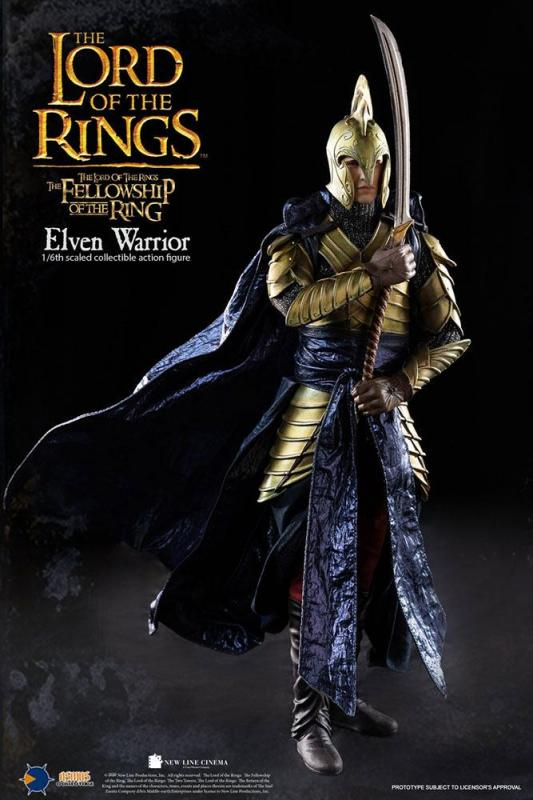 Lord of the Rings: Elven Warrior - Figure 1/6 - Asmus Toys