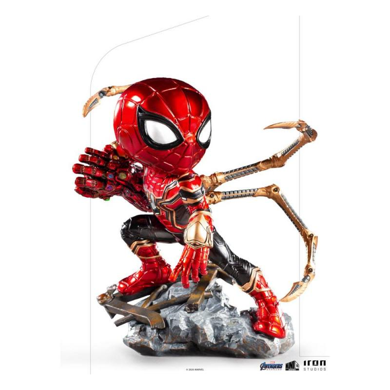 Avengers Endgame: Iron Spider - Mini Co. PVC Figure 14 cm - Iron Studios