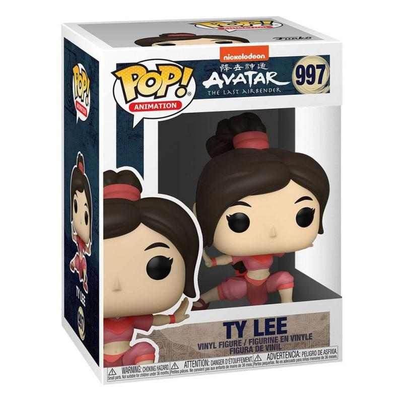 Avatar The Last Airbender: Ty Lee 9 cm POP! Animation Vinyl Figure - Funko
