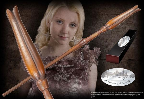 Harry Potter Wand Luna Lovegood (Character-Edition) - Noble Collection