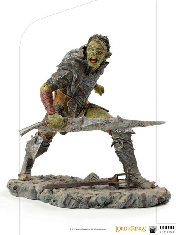 Lord Of The Rings: Swordsman Orc 1/10 BDS Art Scale Statue - Iron Studios