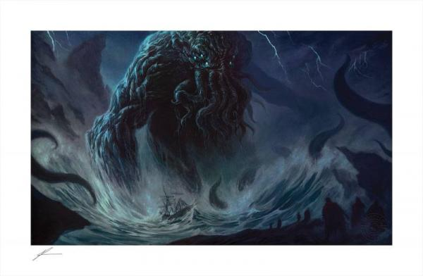 Cthulhu I 46 x 84 cm Art Print by Richard Luong - Sideshow Collectibles