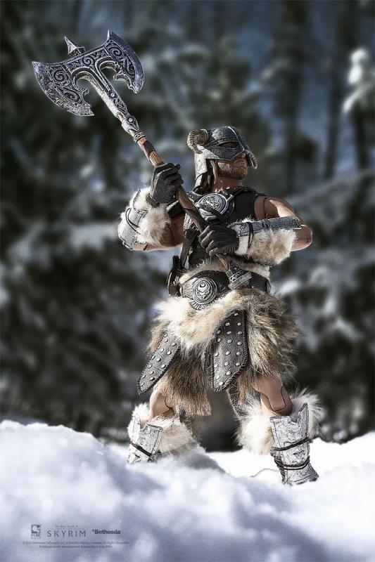 The Elder Scrolls V Skyrim: Dragonborn 1/6 Action Figure Deluxe Ver. - Pure Arts