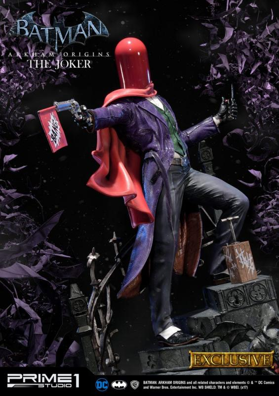 Batman Arkham Origins Statue The Joker Exclusive 86 cm