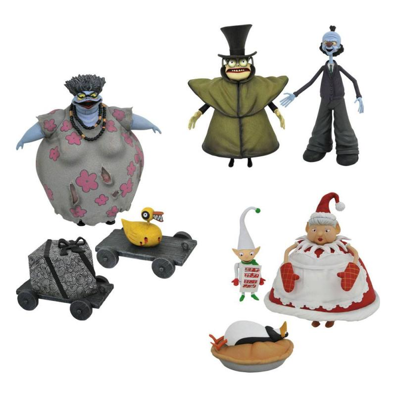 Nightmare before Christmas: Assortment (6) Action Figures 18 cm - Diamond Select