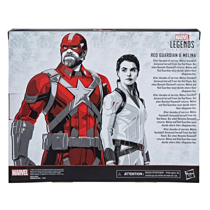 Black Widow: Red Guardian & Melina 15 cm Action Figure - Hasbro