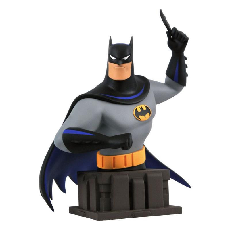 Batman The Animated Series Bust Batman with Batarang 18 cm