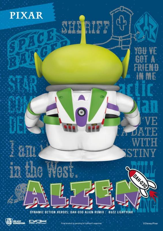 Toy Story: Alien Remix Buzz Lightyear - Figure 16 cm - Beast Kingdom