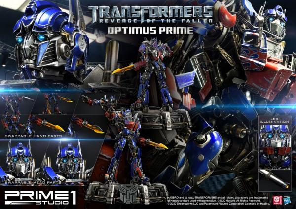 Transformers: Revenge of the Fallen Statue Optimus Prime 73 cm