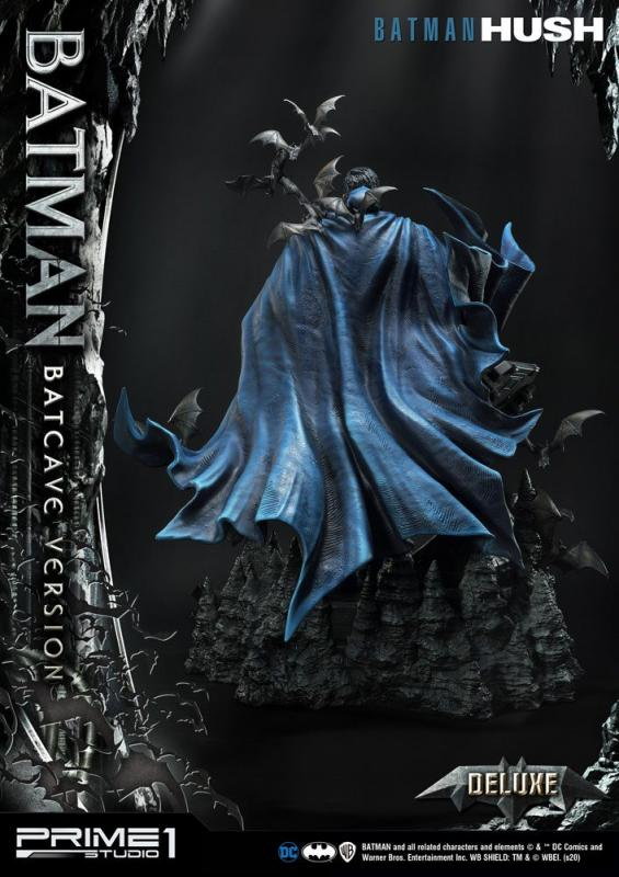 Batman Hush Statue 1/3 Batman Batcave Deluxe Version 88 cm