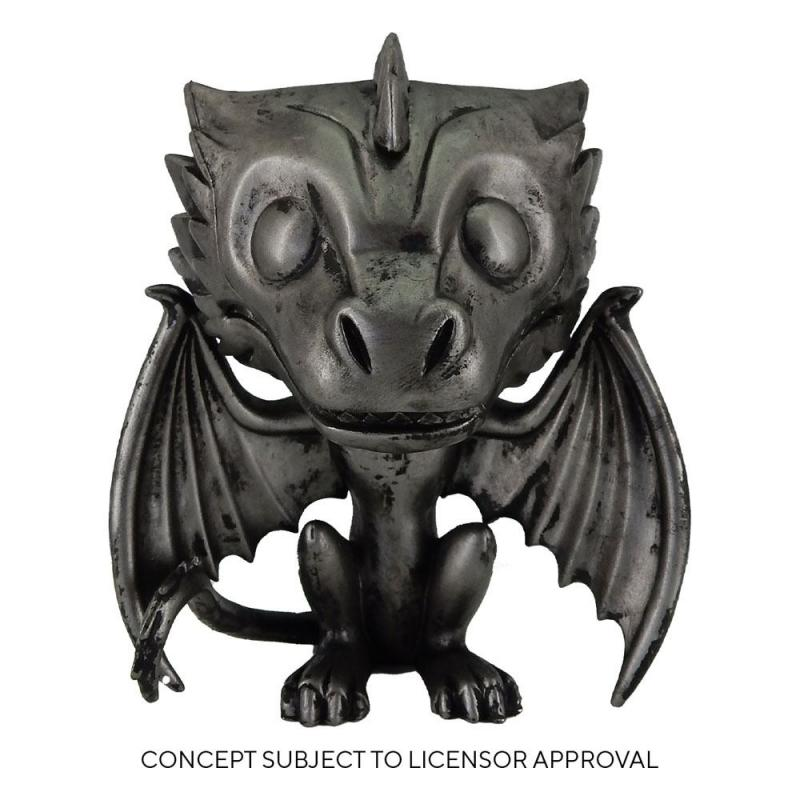 Game Of Thrones: Drogon (Iron) 9 cm POP! TV Vinyl Figure - Funko