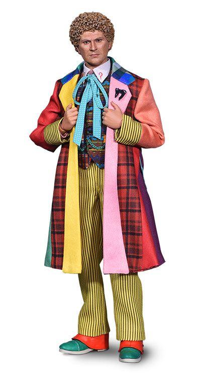 Doctor Who: 6th Doctor (Colin Baker) 1/6 Action Figure - Big Chief Studios