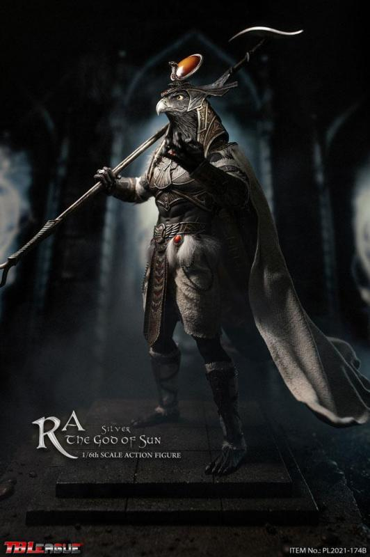 Ra the God of Sun 1/6 Action Figure Silver Edition - TBLeague