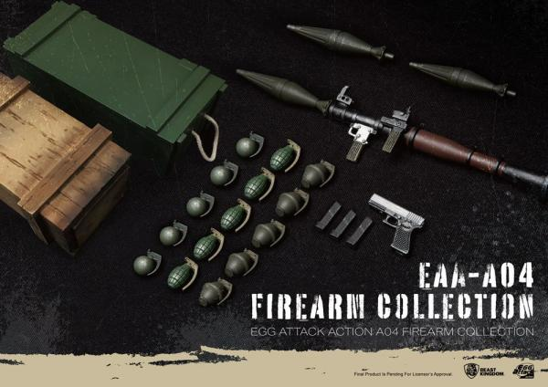 Firearm Collection - Egg Attack Action - Beast Kingdom