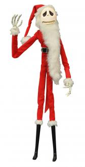 Nightmare before Christmas Coffin Doll Santa Jack 41 cm