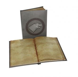 Game of Thrones Notebook with Light Stark