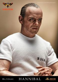 The Silence of the Lambs: Hannibal Lecter White Prison Uniform Ver. Figure 1/6 - Blitzway