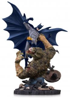 DC Comics Mini Battle Statue Batman vs. Killer Croc 21 cm