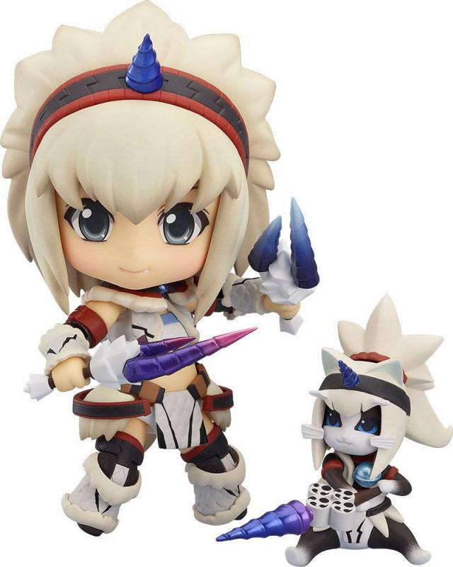 Monster Hunter 4 Nendoroid PVC Action Figure Hunter: Female Kirin Edition 10 cm