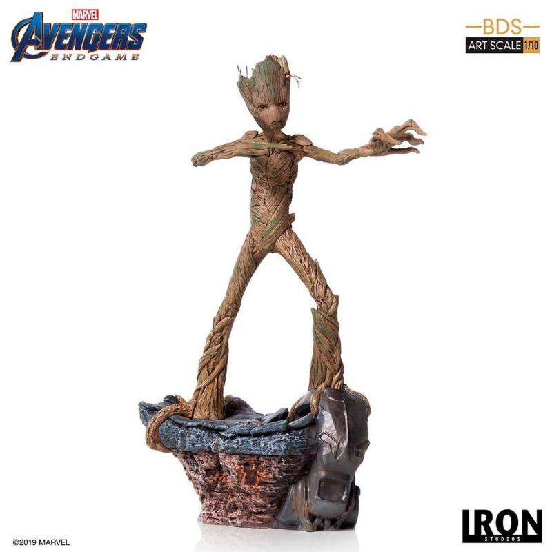Avengers: Endgame BDS Art Scale Statue 1/10 Groot 24 cm