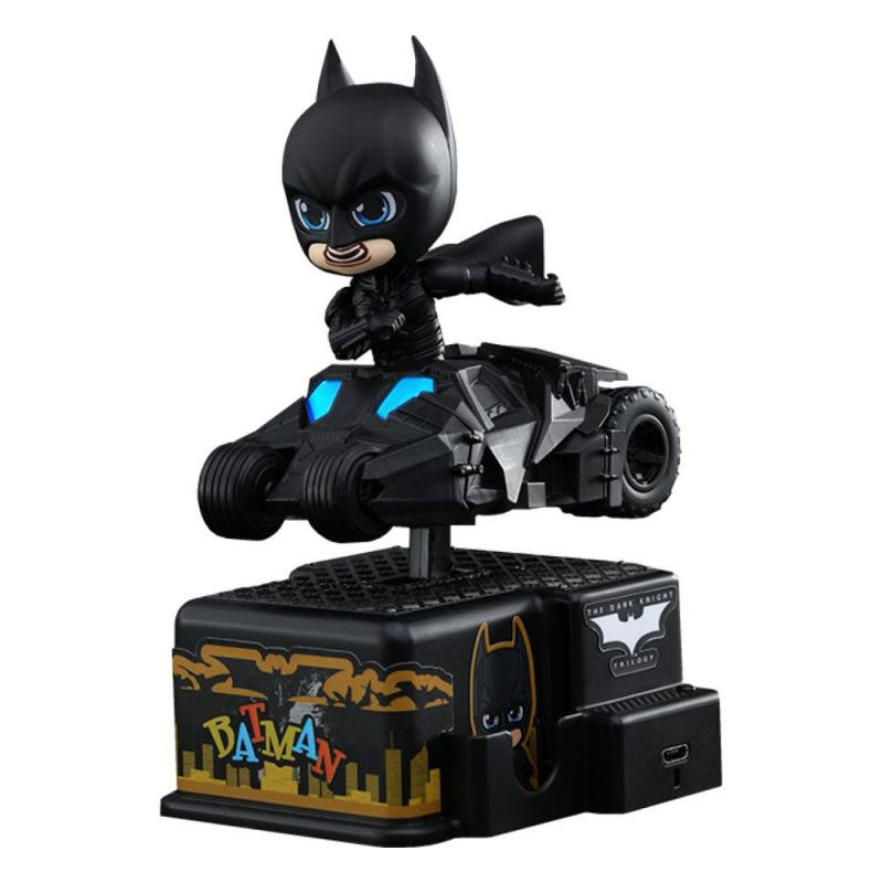 Batman The Dark Knight: CosRider with Sound & Light Up Batman - Mini Figure - Hot Toys
