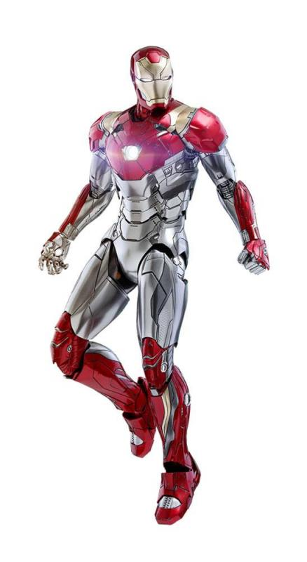 Spider-Man Homecoming Movie Masterpiece Diecast Action Figure 1/6 Iron Man Mark XLVII Reis